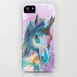 Magical Painted Unicorn iPhone Case