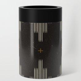 Southwestern Minimalist Black & White Can Cooler