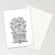 Satanic Rock Stationery Cards