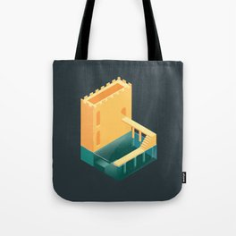 Logged Castle Tote Bag