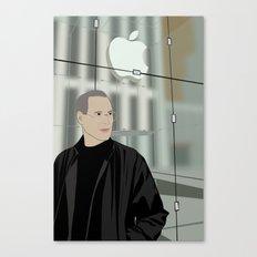 Steve Jobs on 5th Avenue Canvas Print