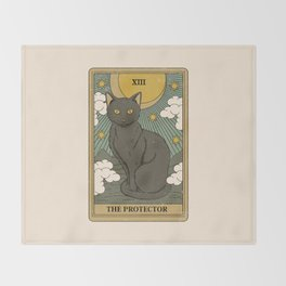 The Protector Throw Blanket