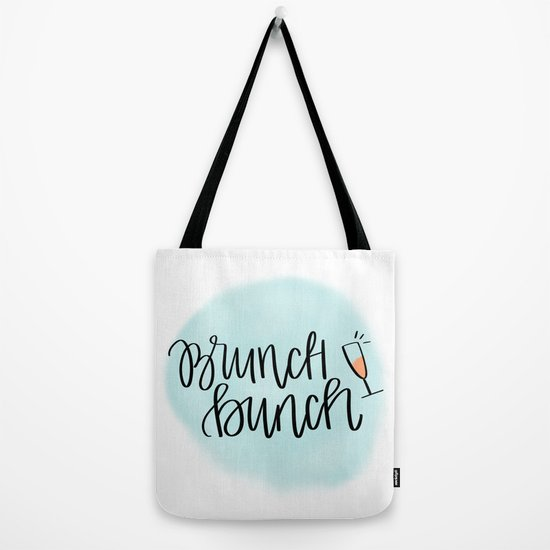 f5111048a0 Brunch Bunch Tote Bag by heylovedesigns