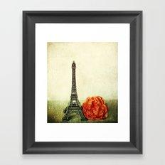 Textured Paris StillLife  Framed Art Print