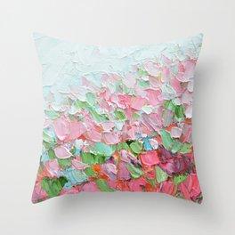 Garden Soiree Throw Pillow