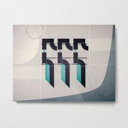 positive trajectory Metal Print