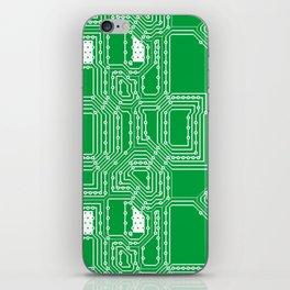 Computer board pattern iPhone Skin