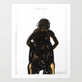 ¿Eres tú? Art Print