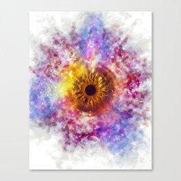 Cosmic Eye Galaxy Canvas Print