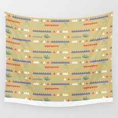 Geometrical Cacti Wall Tapestry
