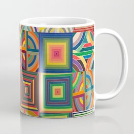 Frank Stella Montage Coffee Mug