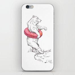 Summer Bear iPhone Skin