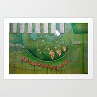 Founded in Mystery Art Print
