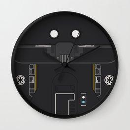 Minimal K-2SO Droid Wall Clock