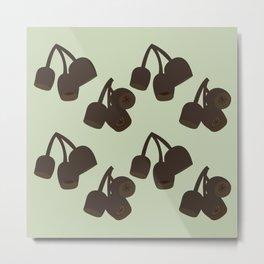 Gumnuts Metal Print