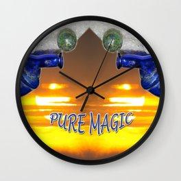 PURE MAGIC Wall Clock