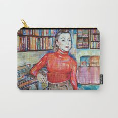 Russian Red, Singer, painting, illustration, art pop Carry-All Pouch