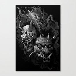 Demon Duel Canvas Print