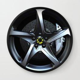 Ferrari FF Wheel Wall Clock