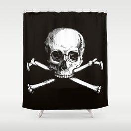 Skull and Crossbones   Jolly Roger Shower Curtain