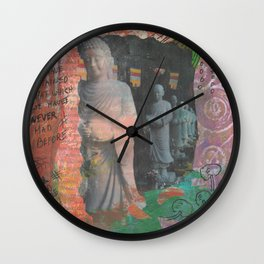 Never Had Before Wall Clock