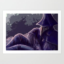 Eileen The Crow Art Print