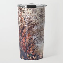 NYC Cherry Blossoms on the Lower East Side Travel Mug