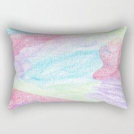 Chalking Around Rectangular Pillow