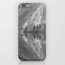 Silver Landscape At Lake Bohinj iPhone Case
