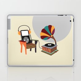 Retro Music Playlist II Laptop & iPad Skin