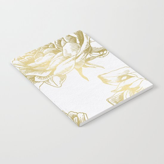 Roses Gold Notebook