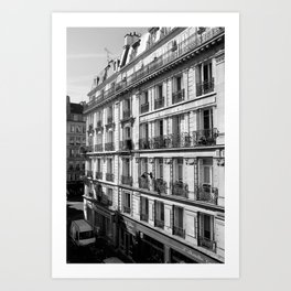 Paris - The Apartment Art Print