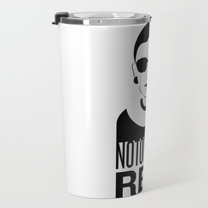 Notorious RBG Travel Mug