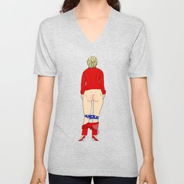 Clinton Butt Unisex V-Neck