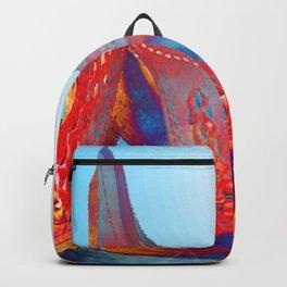 Landscape Bridge Abstract Backpack