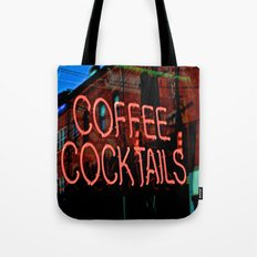 Coffee Cocktails Tote Bag