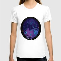 cheshire T-shirts featuring Cheshire by Maria Jose Da Luz