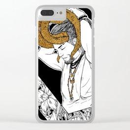 [Caelum Florescens] Aries Clear iPhone Case