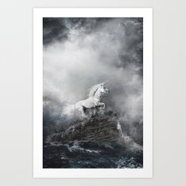 De natura animalium Art Print