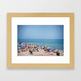 Sunday Funday Framed Art Print
