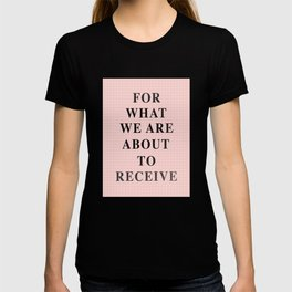 Mila's Prayer cushion T-shirt