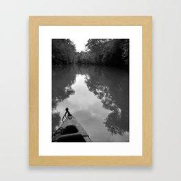 """""""Saluda River"""" Framed Art Print"""
