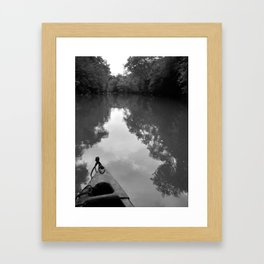 """Saluda River"" Framed Art Print"
