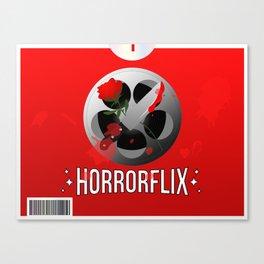 Horrorflix Canvas Print
