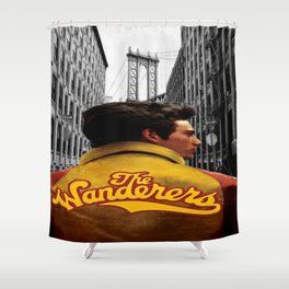 Wanderers Member Jacket Shower Curtain