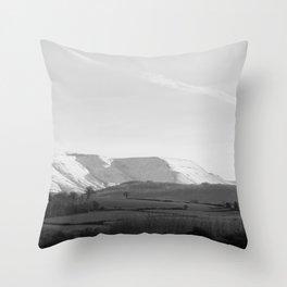 Snowy Brecon Throw Pillow