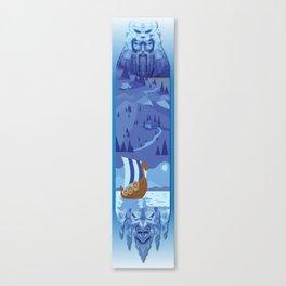 A Viking History No. 1 Canvas Print