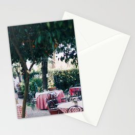 Dinner Under the Orange Trees Stationery Cards