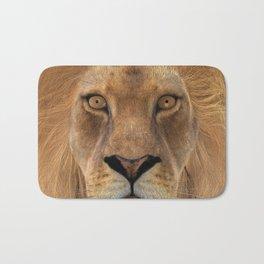 Male Lion Bath Mat