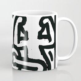 the three monkeys Coffee Mug